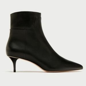 NWT Zara Leather Boots
